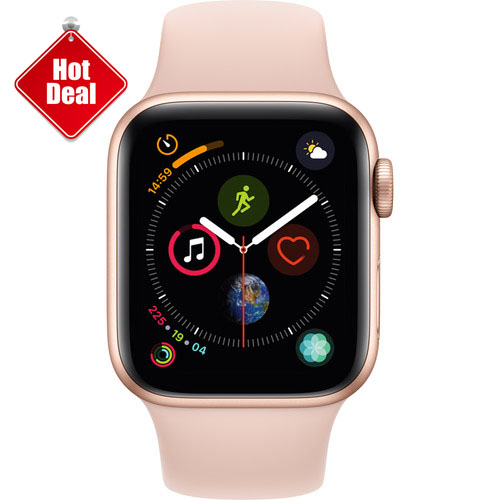 Apple Watch Series 4 GPS 40mm, Gold - Pink Sand Sport Band