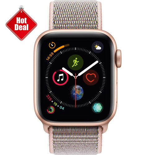 Apple Watch Series 4 GPS 40mm, Gold Aluminum - Pink Sand Sport Loop