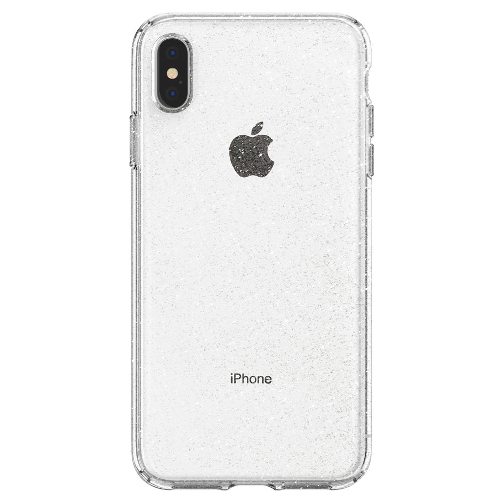 Spigen iPhone XS Max Case Liquid Crystal Glitter Crystal Quartz (Ver.2) 065CS25123