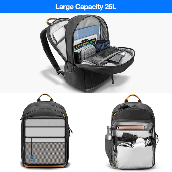 Balo Tomtoc Travel BackPack For Ultrabook 15''