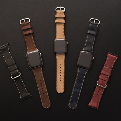Dây da SEN cho Apple Watch 42/44mm