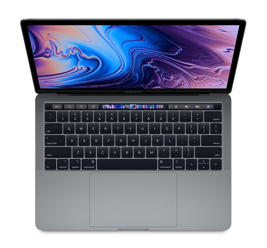 Apple 13.3'' Macbook Pro Touch 128GB, MUHN2 (Mid 2019, Space Gray)