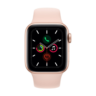 Apple Watch Series 5 GPS 40mm, Gold Aluminum - Pink Sand Sport Band