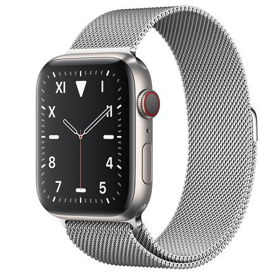 Apple Watch Edition 44mm Titanium with Milanese Loop