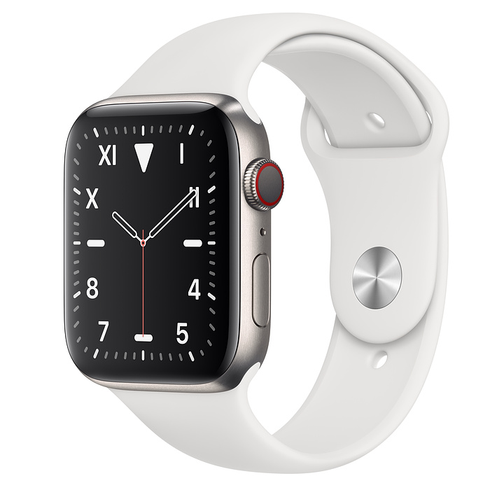 Apple Watch Edition 44mm Titanium with Sport Band