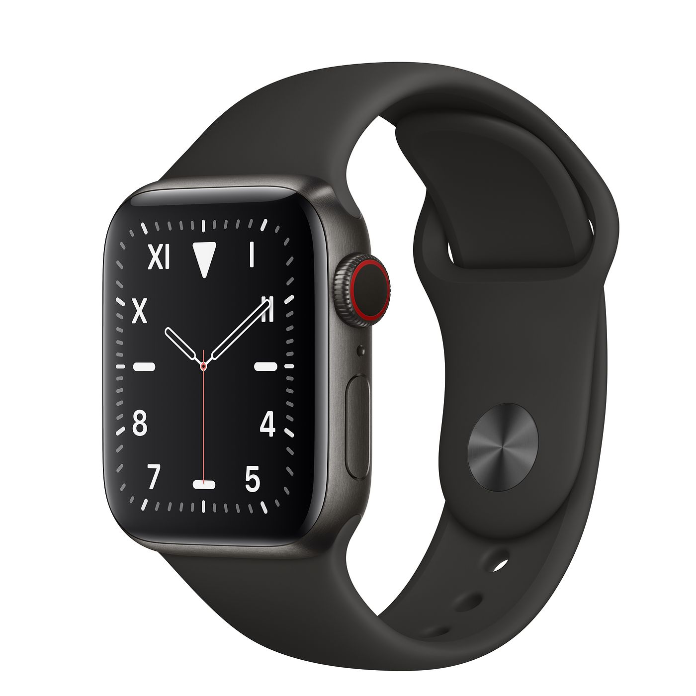Apple Watch Edition 40mm Space Black Titanium Case with Sport Band