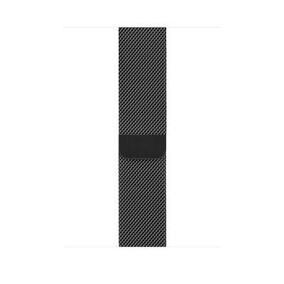 Apple Space Black Milanese Loop 44mm , 99%