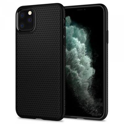 Spigen Liquid Air iPhone 11 Pro Max - Black