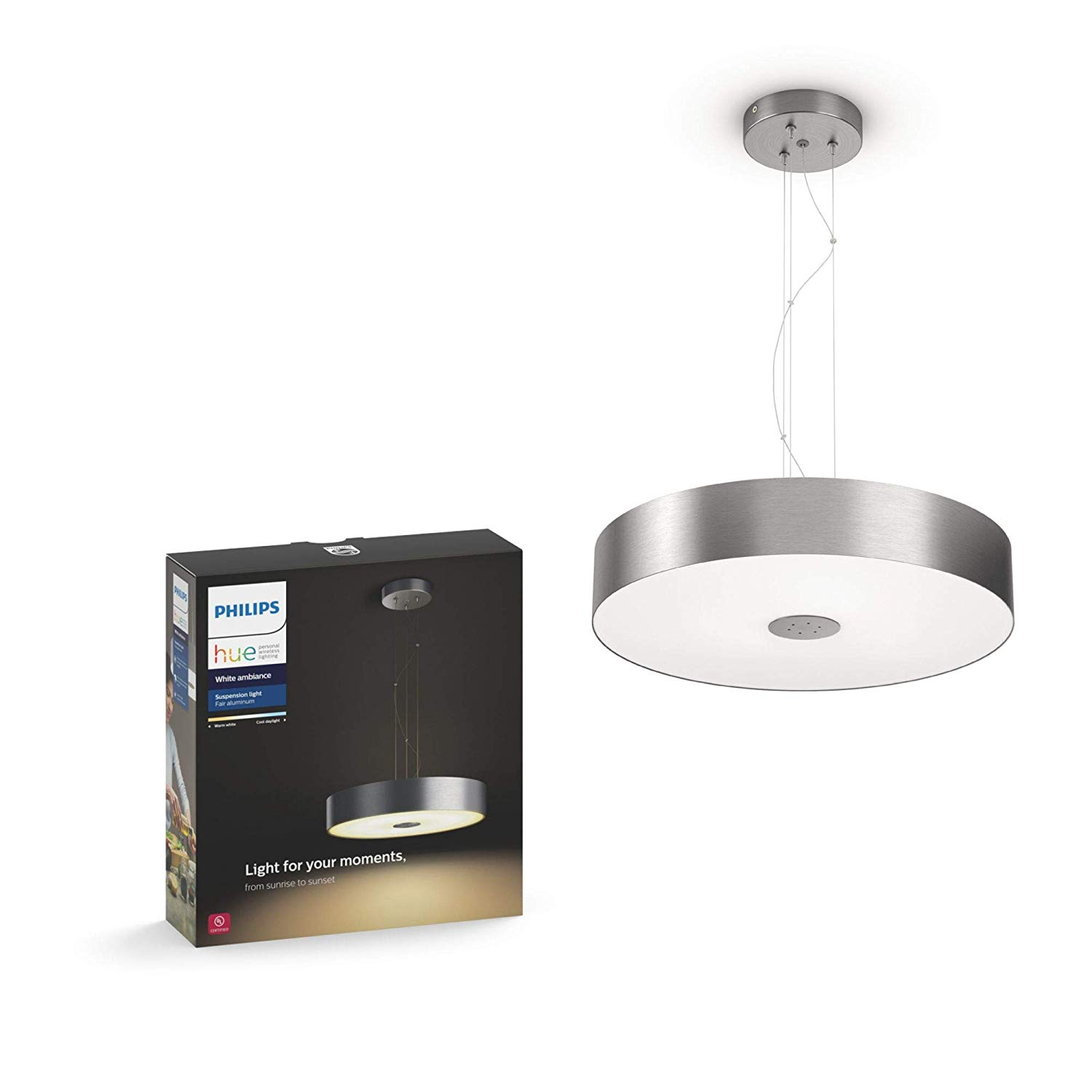 Philips Hue White Ambiance LED Suspension Light - nhập khẩu