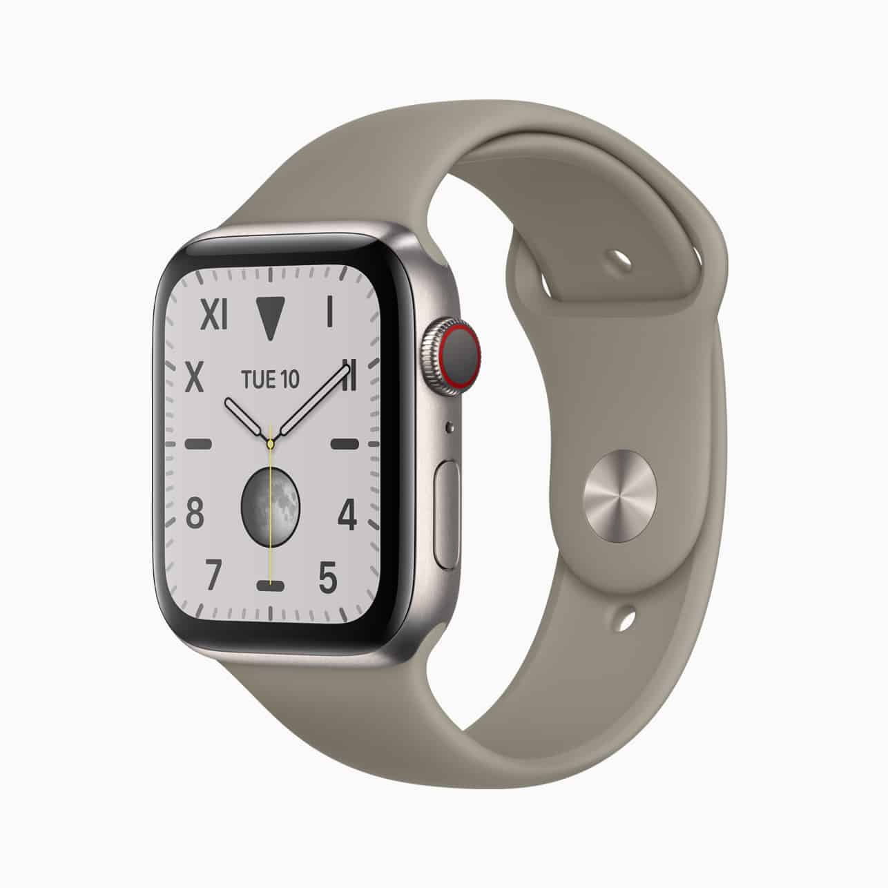 Apple Watch Titanium 44mm with Sport Band