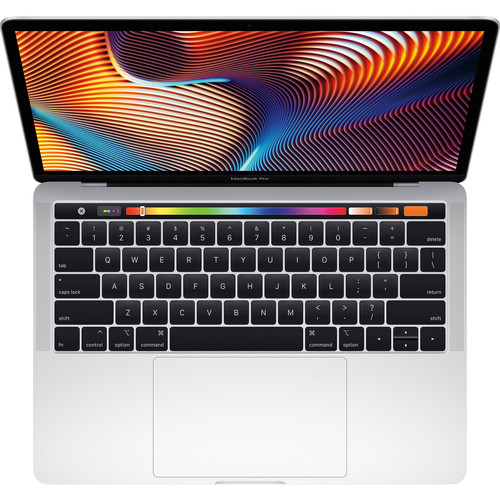 Apple 13.3'' Macbook Pro Touch 256GB (Mid 2019, Silver) MUHR2