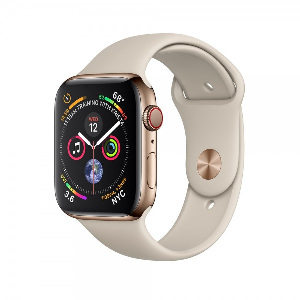 Apple Watch Series 4 GPS + Cellular 40mm, Gold Stainless Steel - qua sử dụng