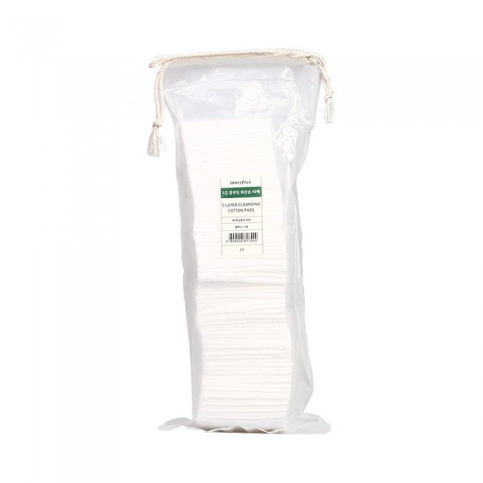 Innisfree 5 Layer Cleansing Cotton Pad