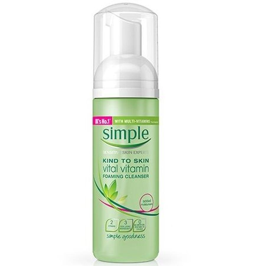 Simple Vital Vitamin Foaming Cleanser