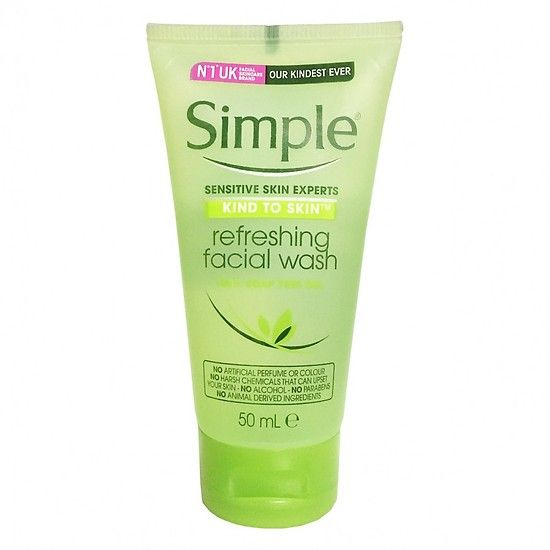 Simple Refreshing Facial Wash 50ml