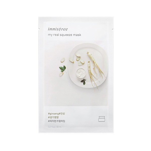 Innisfree My Real Squeeze Mask Ginseng