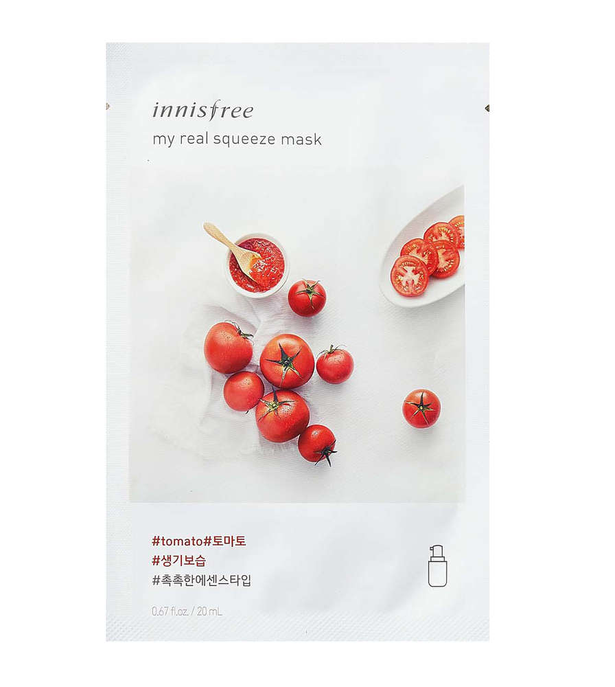 Innisfree My Real Squeeze Mask Tomato