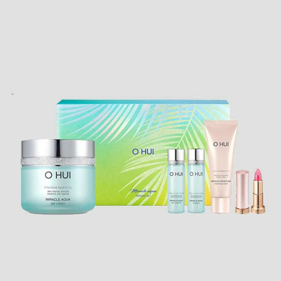 Ohui Miracle Aqua Gel Cream Special Set