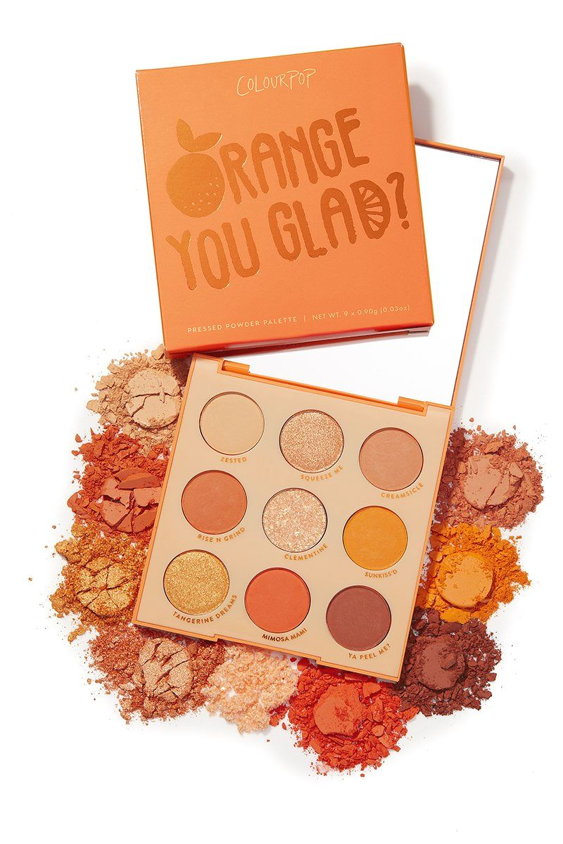 Colour Pop Shadow Palette Orange You Glad
