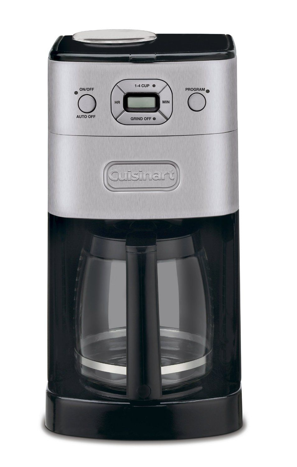 (TT/WS) GRIND & BREW 12-CUP AUTOMATIC COFFEEMAKER, 220-240V/50Hz/1000W, CUISINART == 3 YEARS WARRANTY, DOMESTIC USE ==