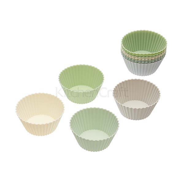 KITCHEN CRAFT, CWS, BỘ KHUÔN CUPCAKE 12 CHIẾC, SILICONE