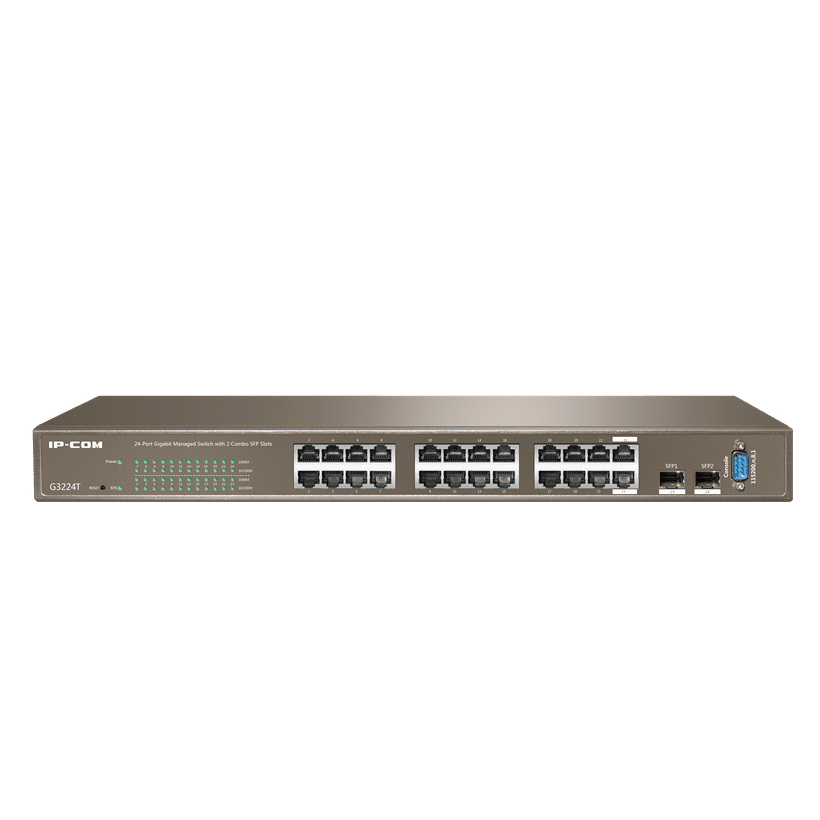 IP-COM Full Managed Switchs G3224T V1.0