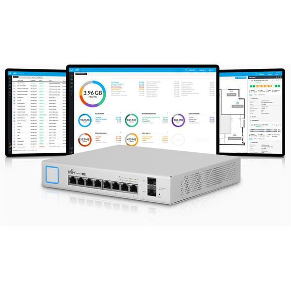 Switch Ubiquiti Unifi US‑8‑150W