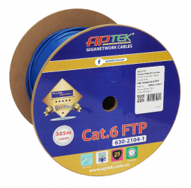 Cap mang APTEK CAT.6 FTP 305m