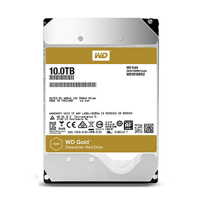 O cung WD Gold 10TB cho Server - Datacenter
