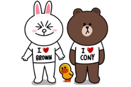 LINE: Brown & Cony