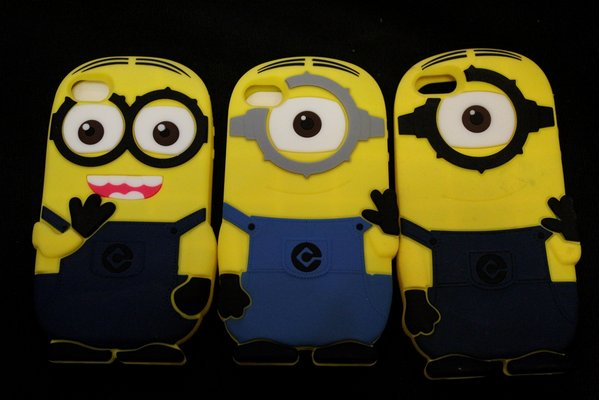Ốp lưng dẻo Minion - iPhone 4/5/6/6plus