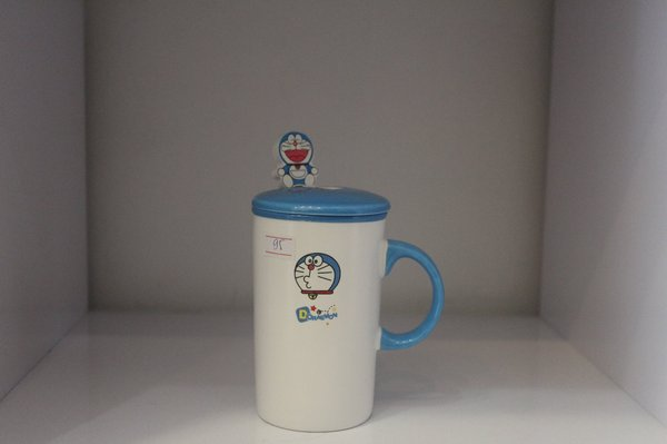 Cốc/Ly sứ Doraemon/Totoro/Minion/Kitty 301-400ml