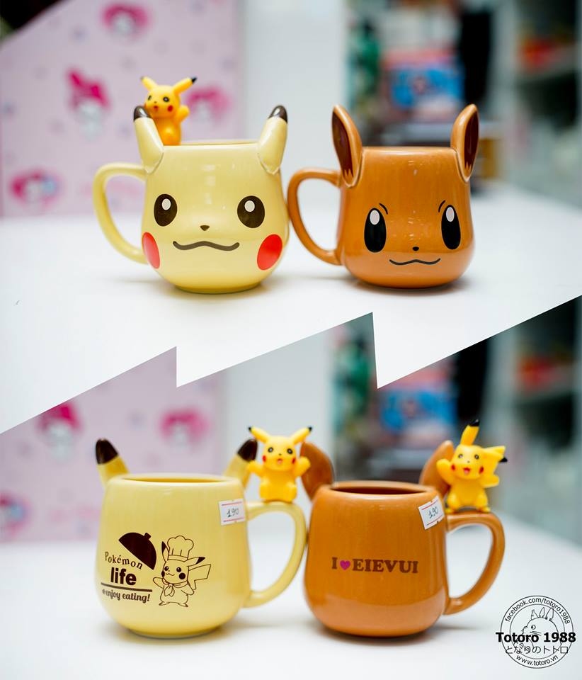 Cốc/Ly Pikachu/Pokemon 101-200ml