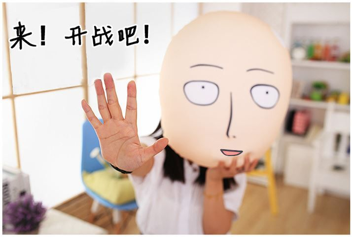 Gối xốp One Punch Man - 40cm