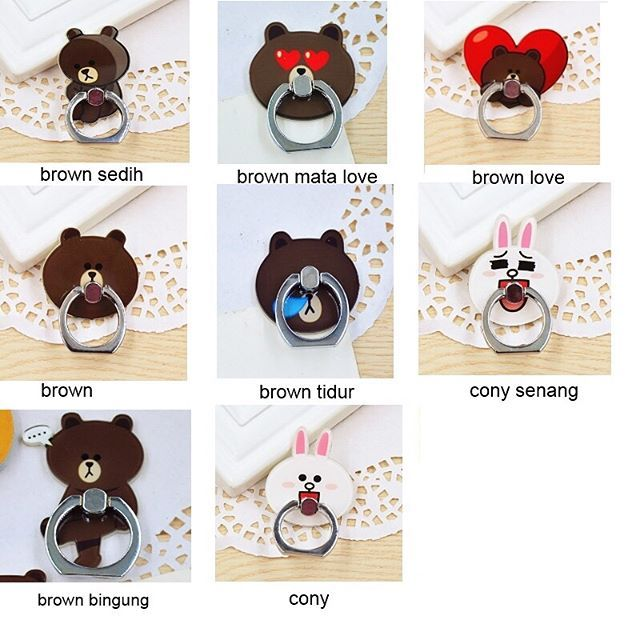 iRing Brown - Cony (LINE)