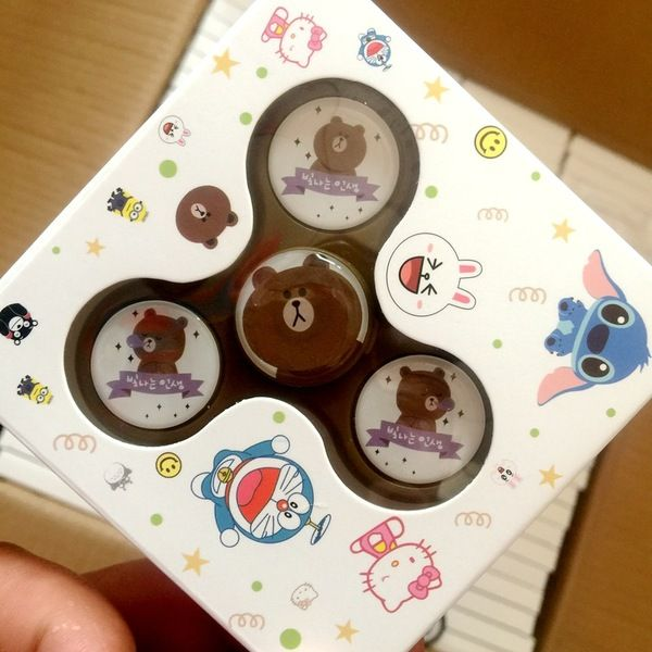 Con quay spinner Brown-Cony