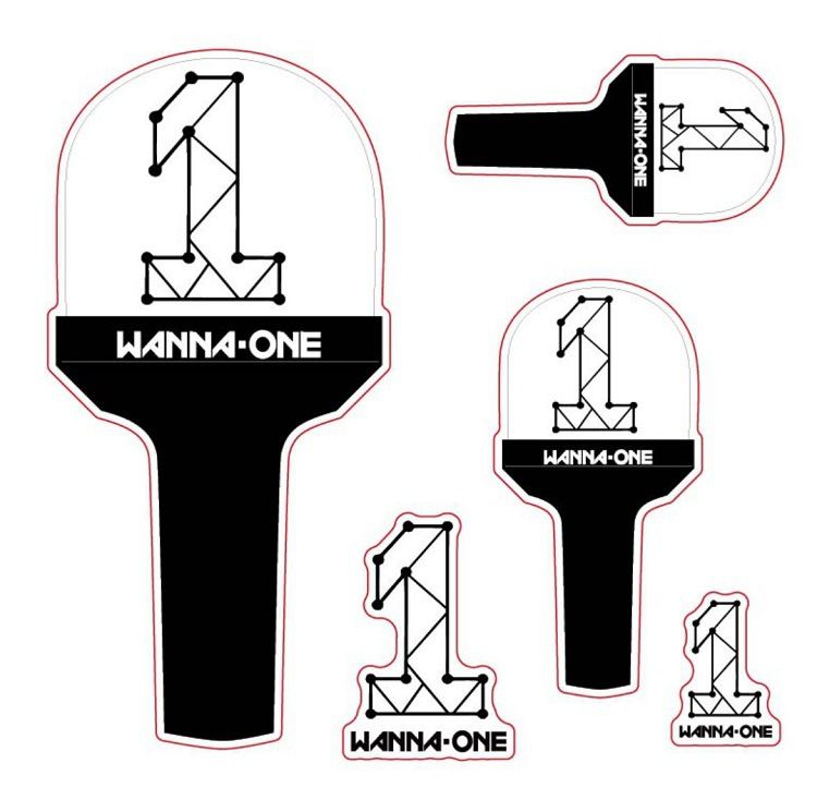 Tệp Sticker Lightstick Wanna One
