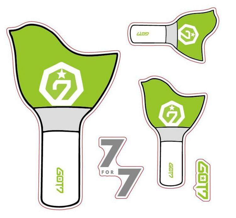 Tệp Sticker Lightstick GOT7