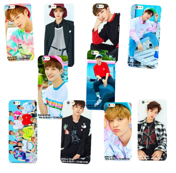 Ốp lưng Wanna One cho iPhone 5/6/6+/7/7+/8/8+/X