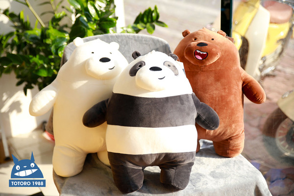 Gấu We Bare Bear đứng