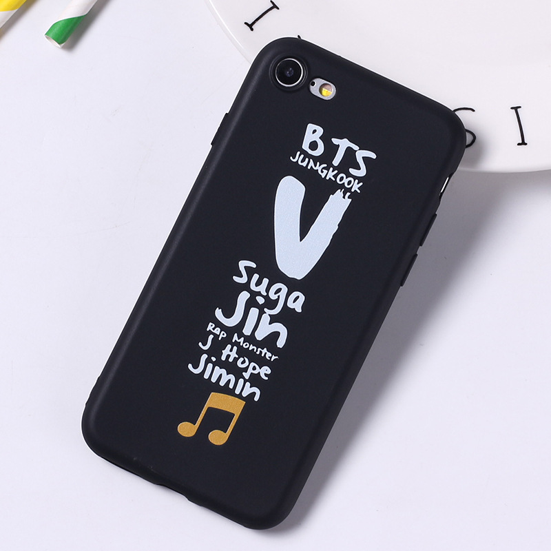 Ốp lưng BTS Idol Name cho iPhone 5/6/6+/7/7+/8/8+/X