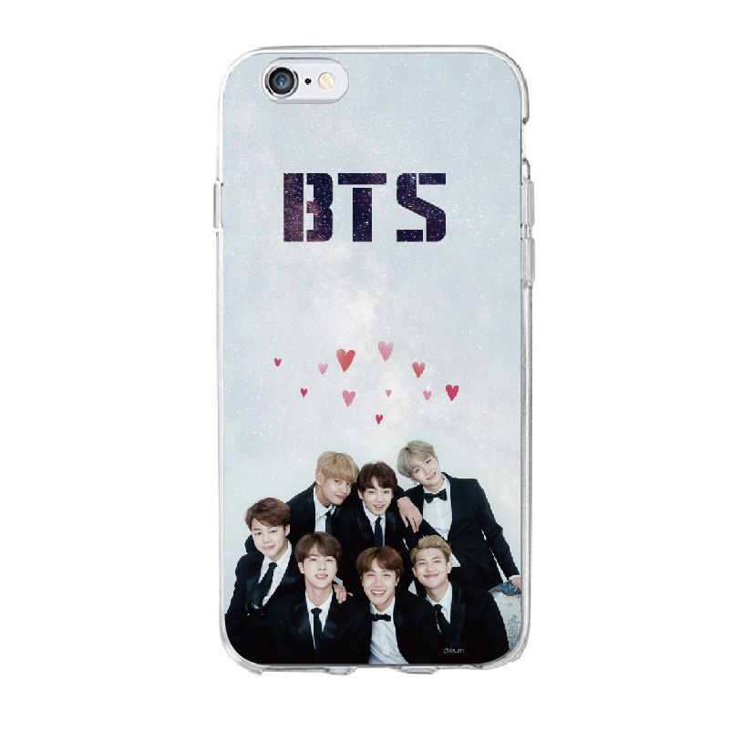 Ốp lưng BTS with love cho iPhone 5/6/6+/7/7+/8/8+/X