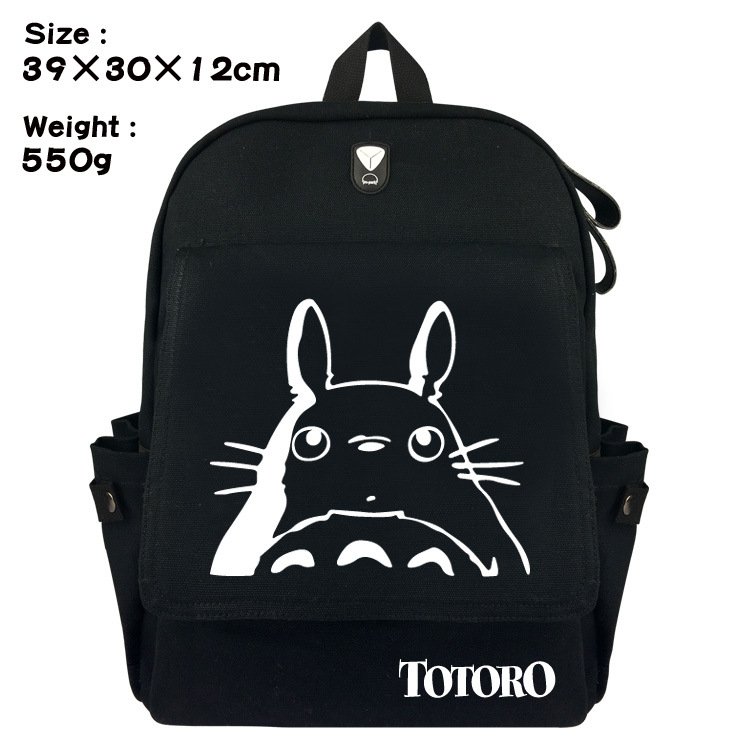 Balo Totoro All Black