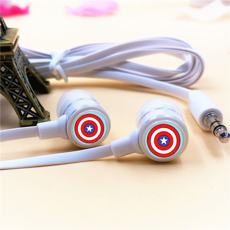 Tai nghe Earphone Captain American