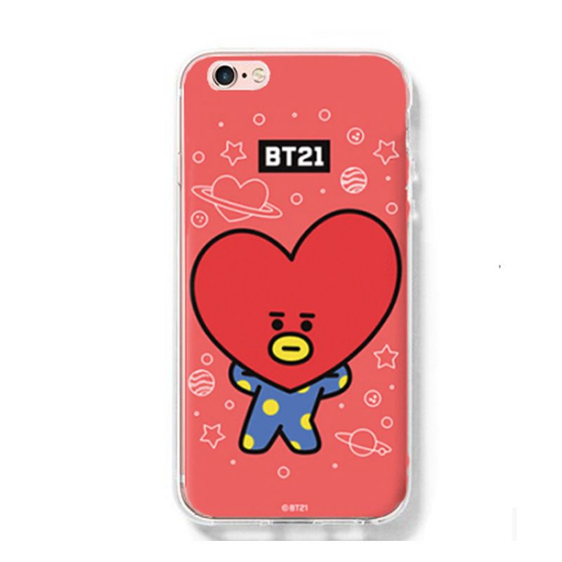 Ốp lưng Tata - BT21 (BTS) iPhone 6/6+/7/7+/8/8+/X