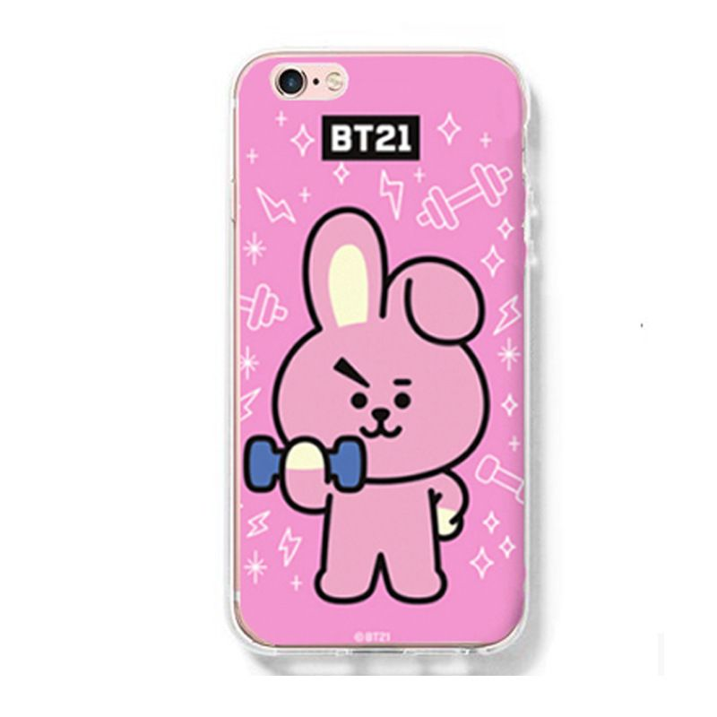 Ốp lưng Cooky - BT21 (BTS) iPhone 6/6+/7/7+/8/8+/X
