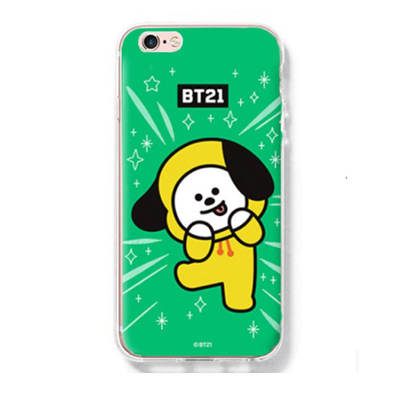 Ốp lưng Chimmy - BT21 (BTS) iPhone 6/6+/7/7+/8/8+/X