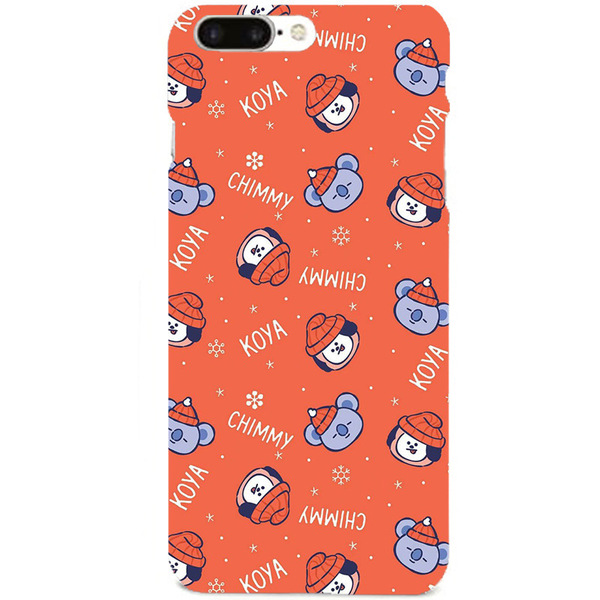Ốp lưng BT21 (BTS) New Year - RED - cho iPhone 6/6+/7/7+/8/8+/X