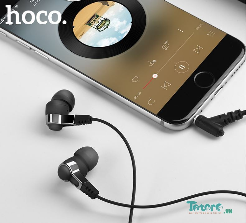 Tai nghe Earphone In-ear CH Hoco M52 - Đen