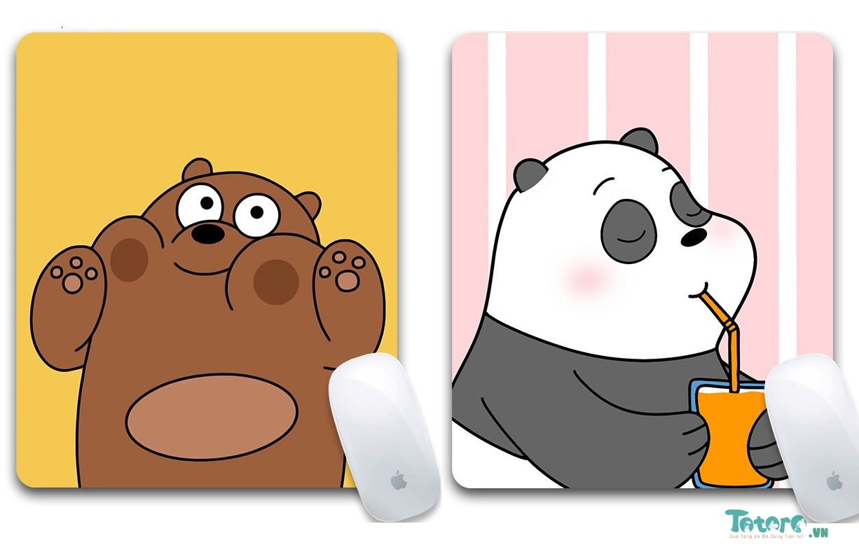 Pad di chuột We Bare Bear